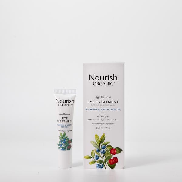 NOURISH ORGANIC  Age Defense Eye Treatment