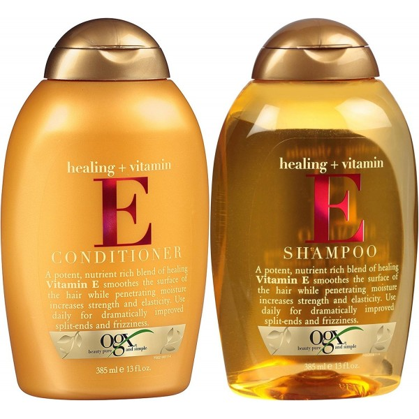 OGX Healing Plus Vitamin E Shampoo and Vitamin E C...