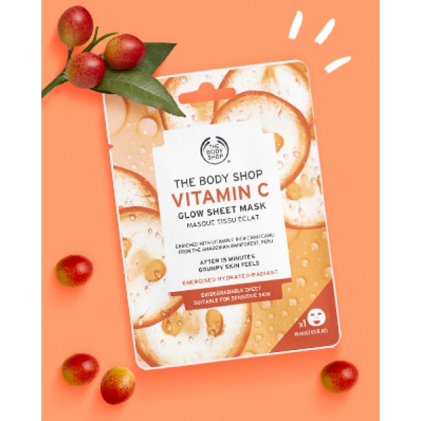 Vitamin C Glow Sheet Mask
