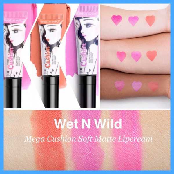 Wet n Wild MegaCushion Matte Lip Cream